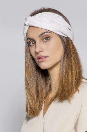 turbante mujer beige